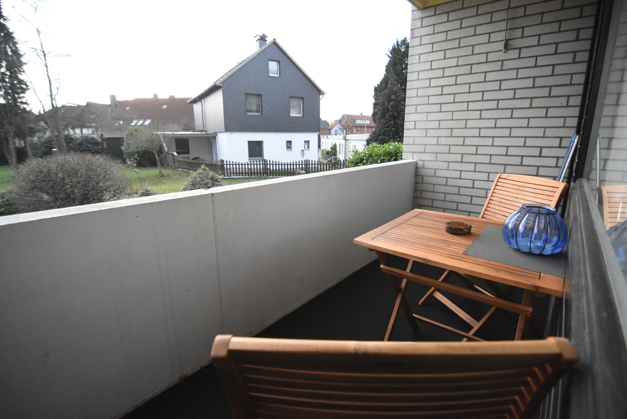 Balkon Am Anger Ferienwohnung Steinhuder Meer